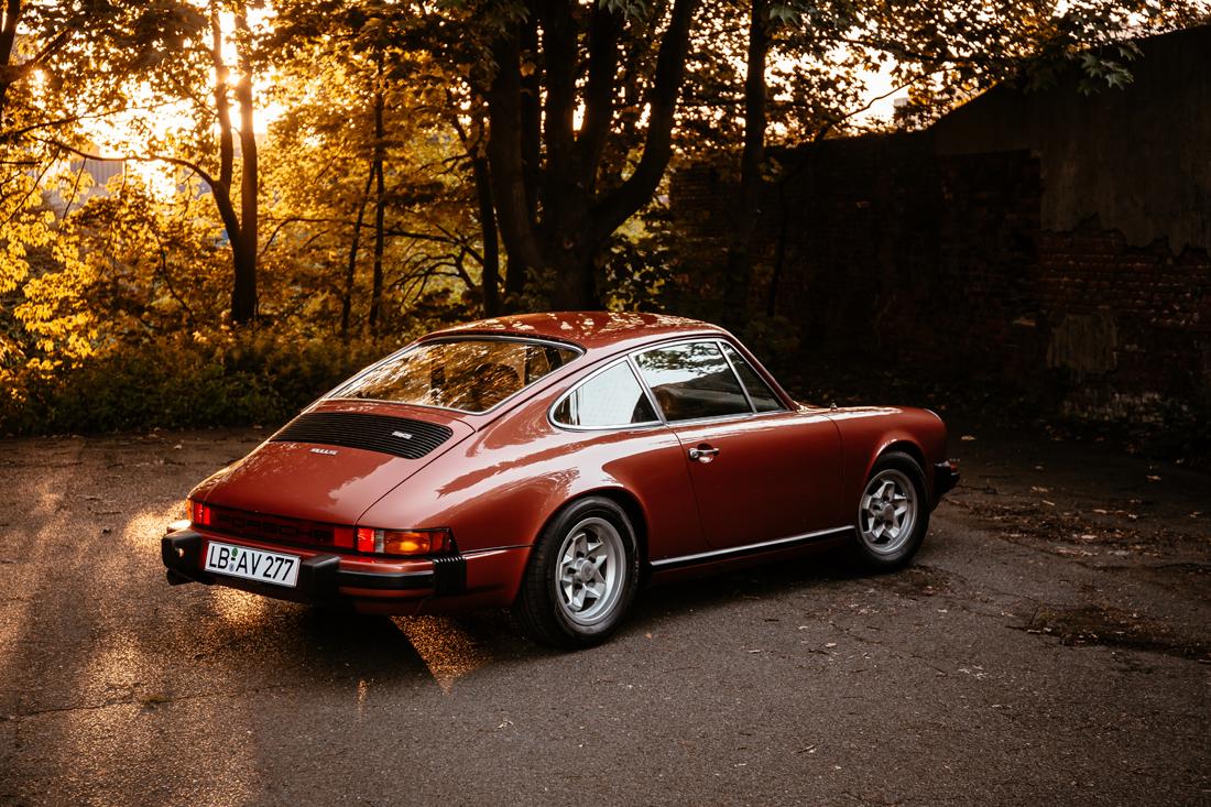 Porsche 911S in lachsdiamant
