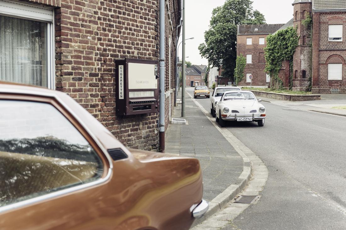 Gegen den Strom: Im Opel Rekord D 1900 in Immerath und Borschemich