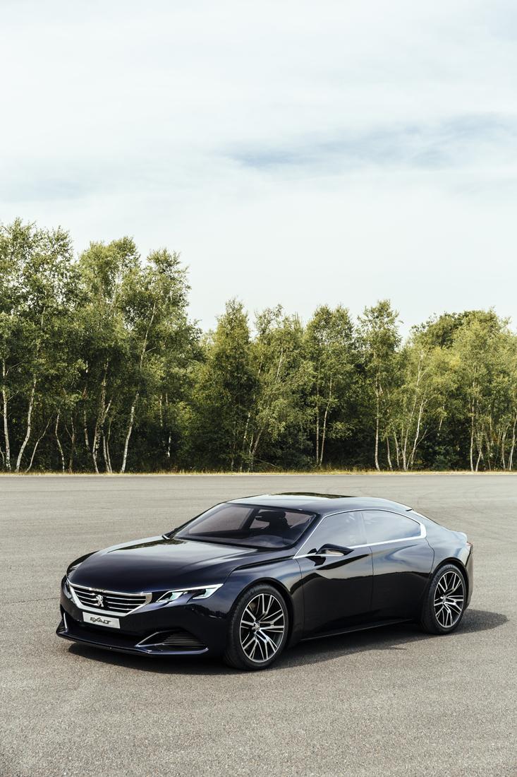 Designstudie Peugeot Exalt