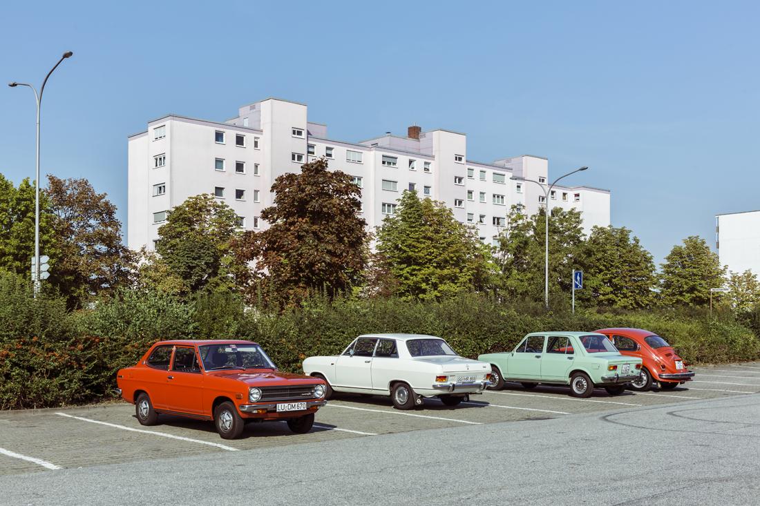 Klassik-Vergleichstest VW 1302 Automatic gegen Opel Kadett B Automatic gegen Datsun 1200 gegen Simca 1100 und Fiat 128