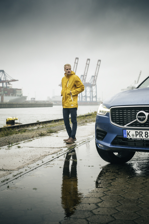 Mario Galla and the Volvo XC 60 T5 AWD